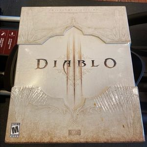 Diablo 3 collectors edition UNUSED UNOPENED